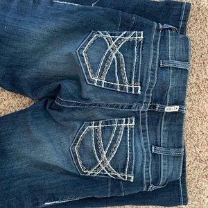 Artist boot cut jeans